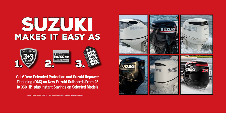 Susuki Outboards  for sale on Lake Hartwell Georgia