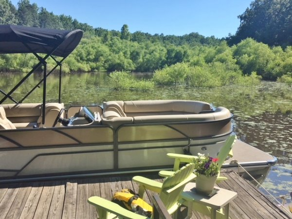 A B-2285CS is a Power and could be classed as a Pontoon,  or, just an overall Great Boat!