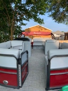 Very Clean and Covered dock/covered storage  kept